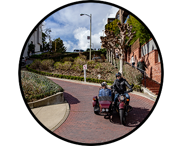 The Classic - Let's take a ride around the most iconic & classic Monuments of San Francisco.