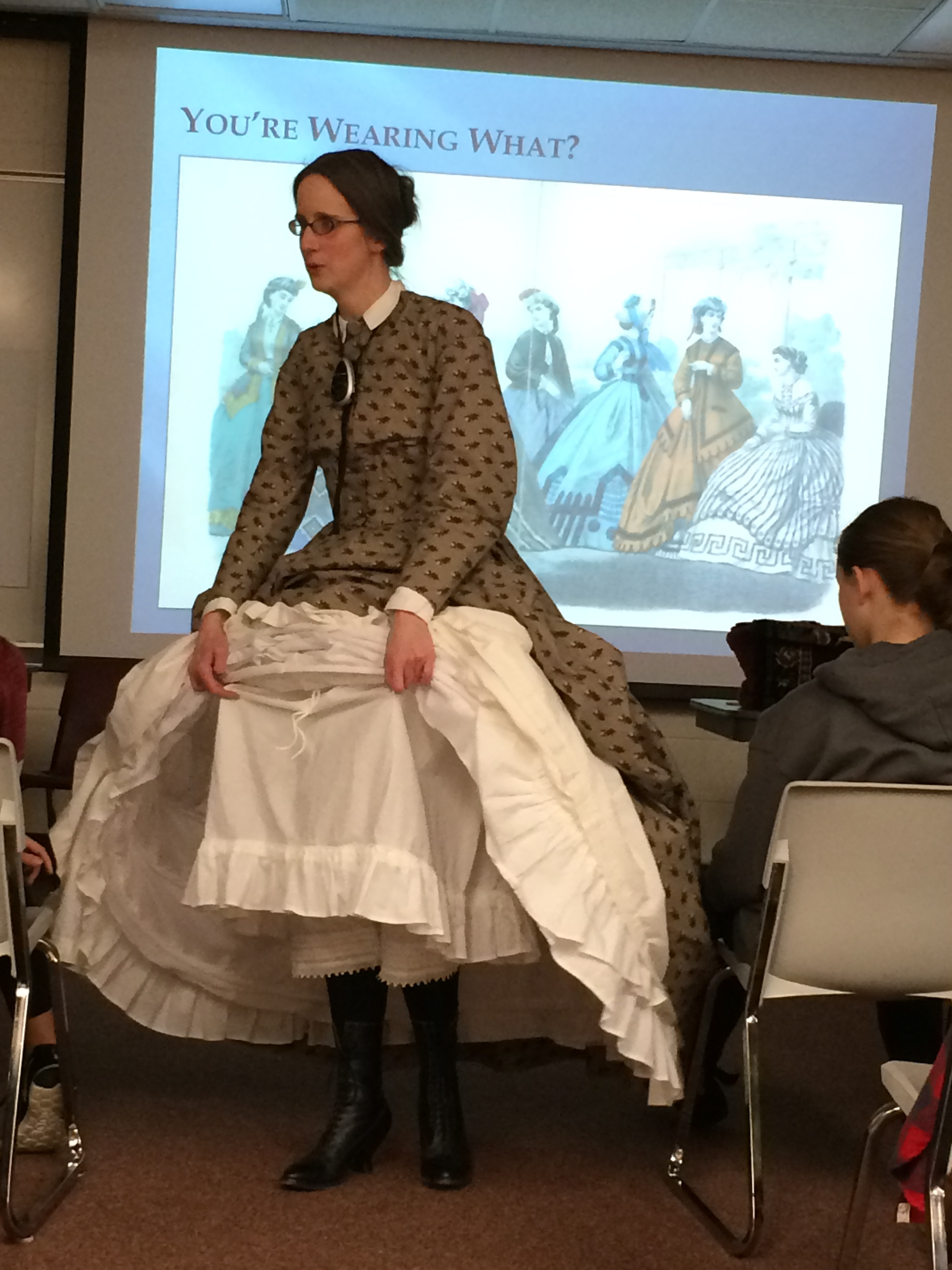 ACHS staff will bring the Civil War era to life for your classroom or social group by dressing the part and explaining each piece of clothing. They will also describe the elements of daily life and showcase artifacts.