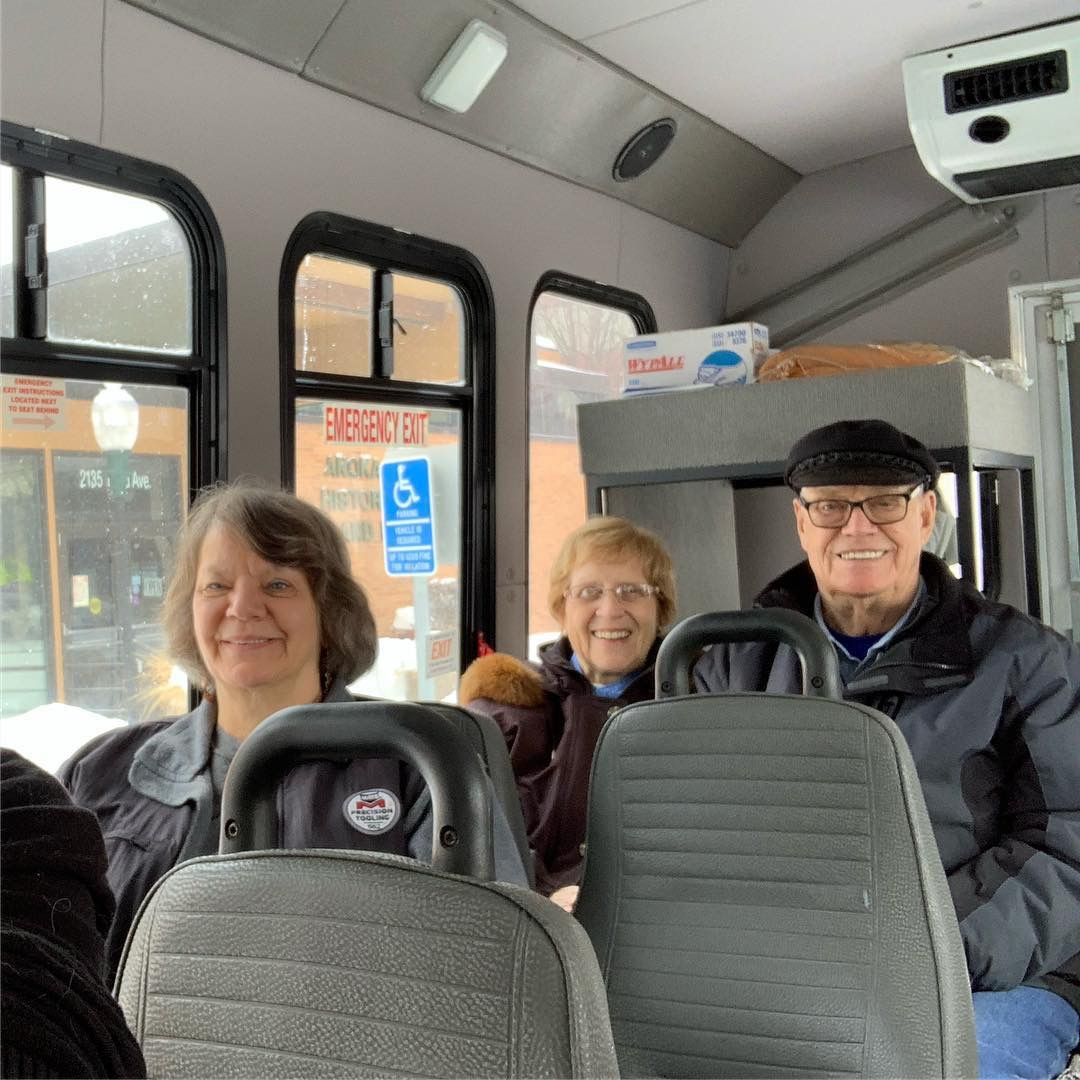 Bus Tours - Take your group on a guided tour of Anoka (you provide the bus, we provide the tour). Make a day of it and explore the museum before hopping on the bus with our presenter. Then enjoy stories of Anoka, views of what was, and currently is,on the streets of the city. After the tour enjoy some eats at local businesses.