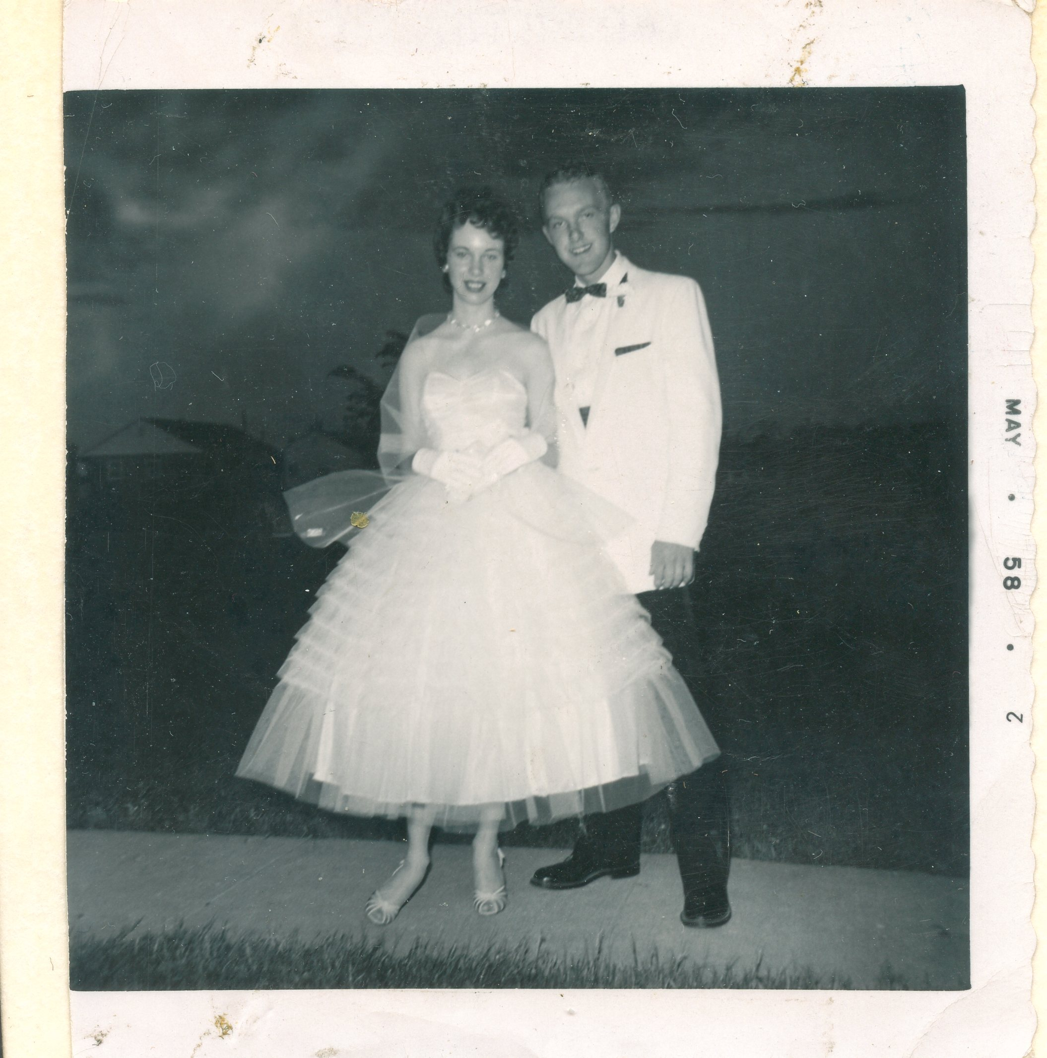 Alexander Springer and Dawn Ryman, May 1958.