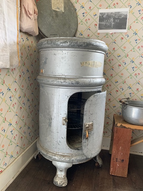 Visit ACHS at the Anoka County Fair this weekend in the historic farmhouse to see the refrigerator for yourself. Staff and volunteers will be on duty to answer questions, listen to your stories, and play some games from years gone by.