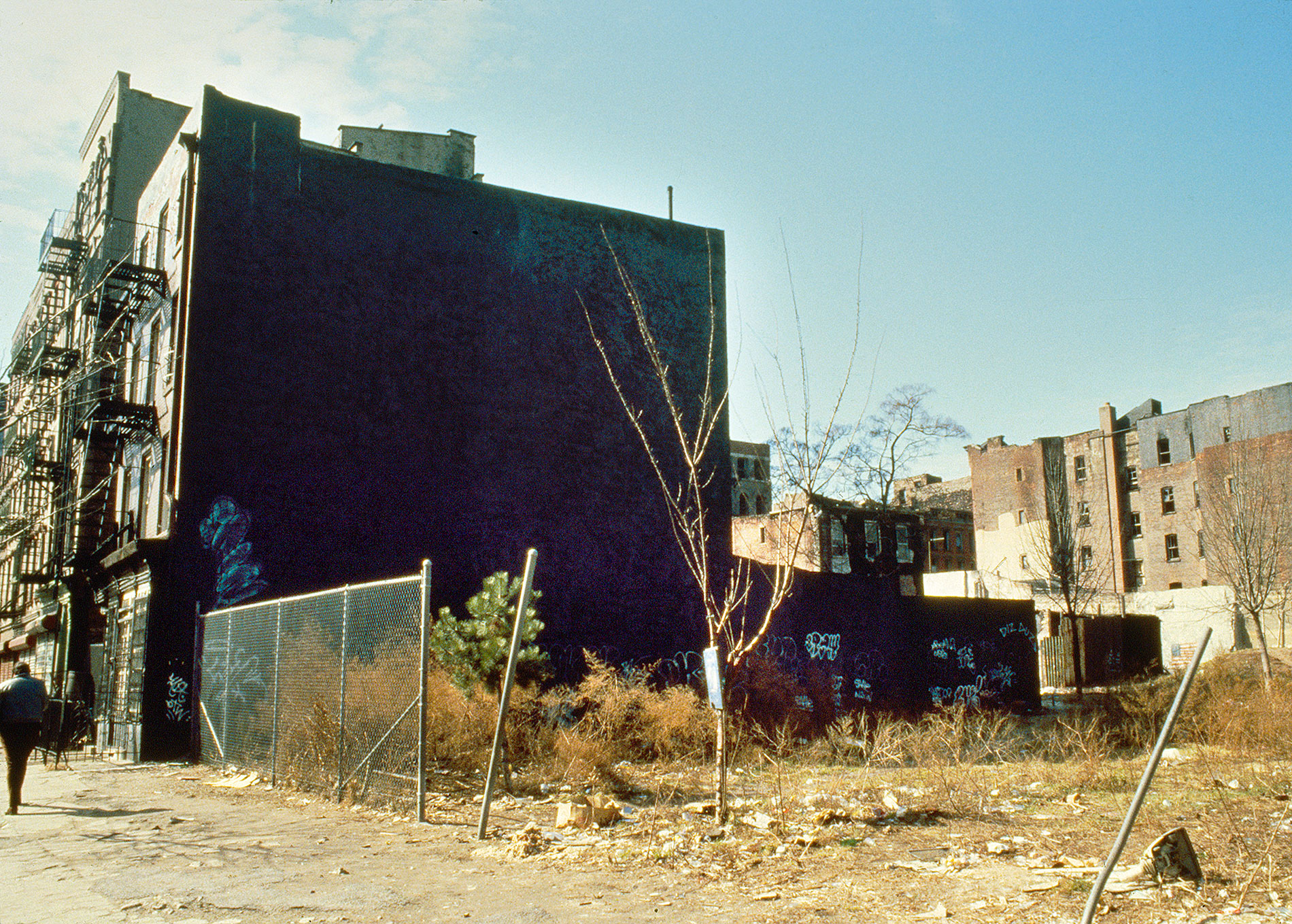 La Plaza Cultural in 1985   Photo © Camille Perrottet