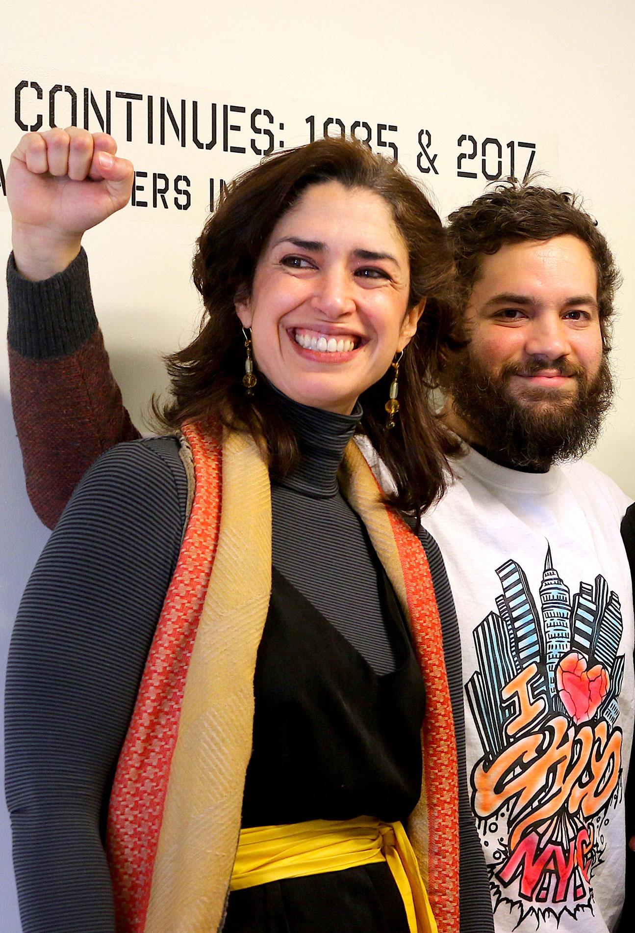 Libertad Guerra & Alejandro Epifanio   Photo © Camille Perrottet