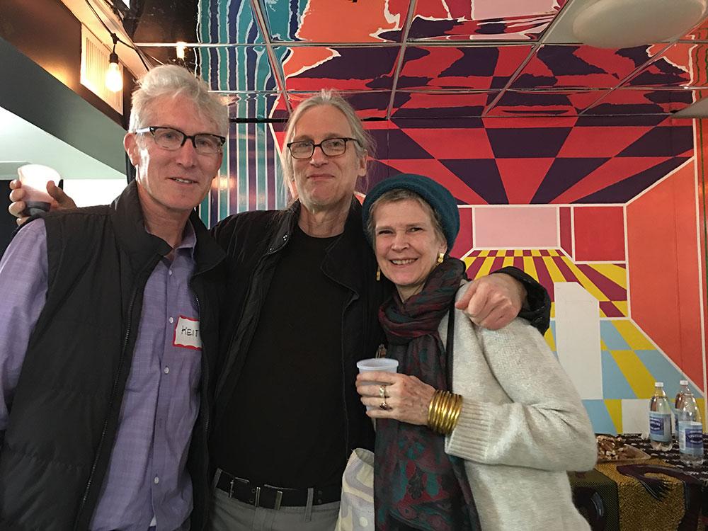Keith Christensen, Seth Tobocman, Kristin Reed   Photo © Camille Perrottet