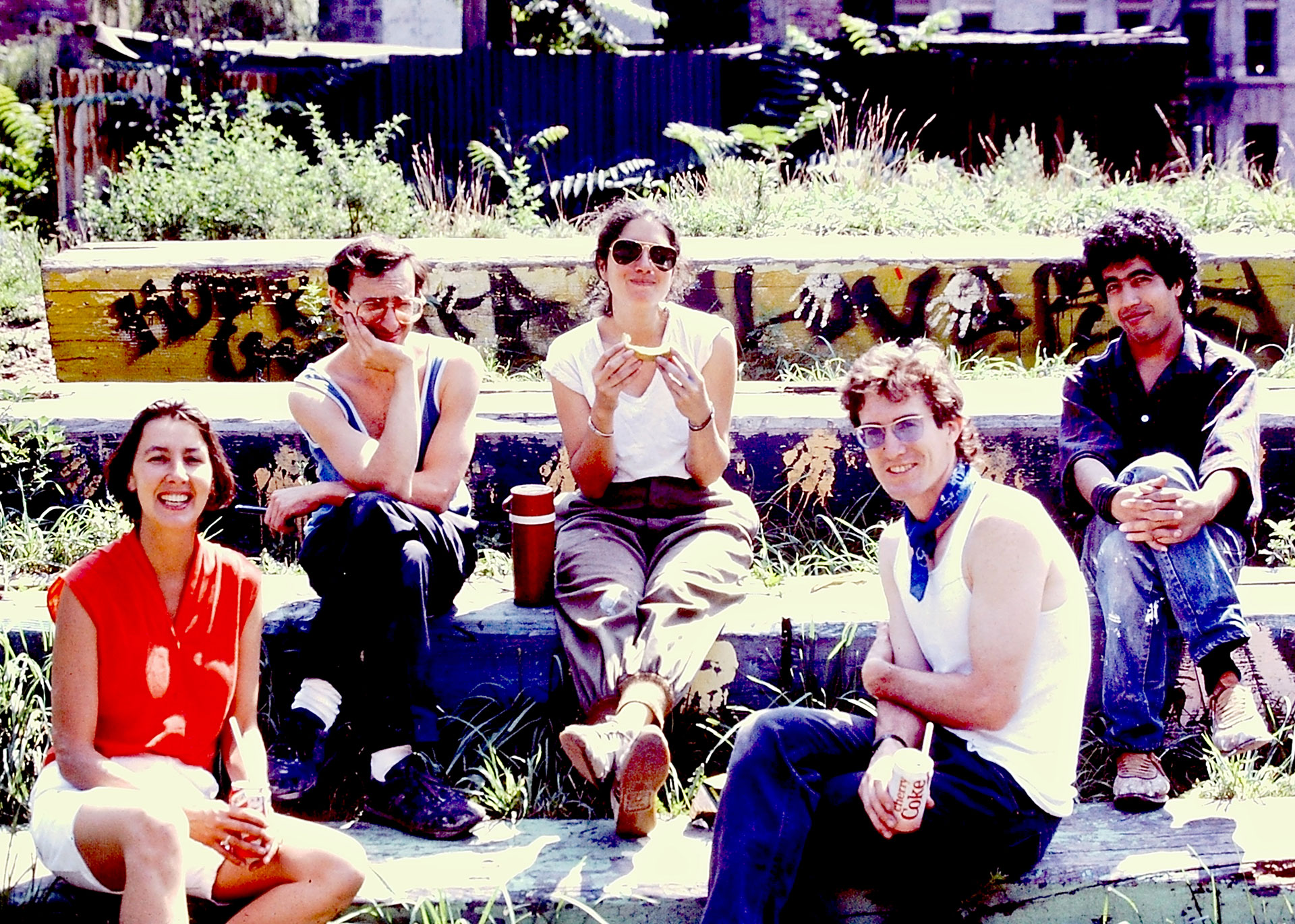 Camille Perrottet, Noah Baen, Rikki Asher, Keith Christensen, Hamid Irbouh   Photo © Joe Stephenson