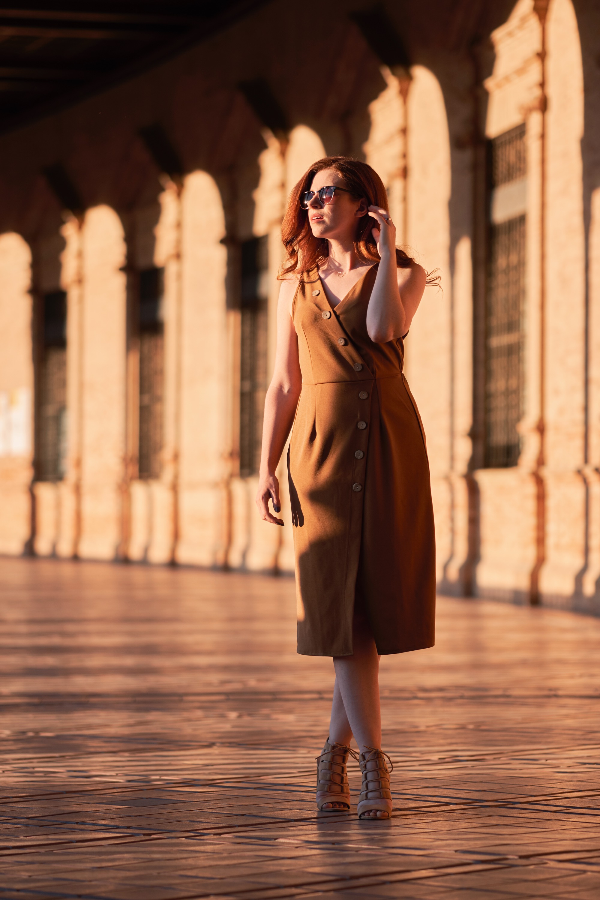 - This dress is a versatile addition to any holiday wardrobe - dress it down with flats during the day or add heels and accessories to elevate it for the evening. Bonus points for being able to layer it with a roll neck & tights when its chillier at home!Dress: BoohooShoes: Primark