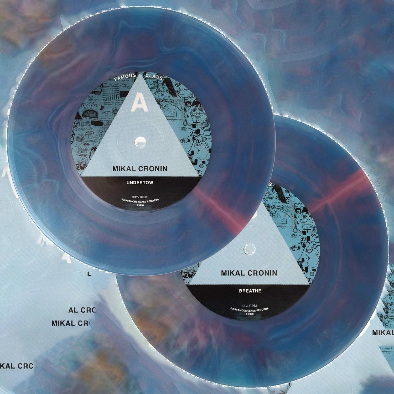 Mikal Cronin: Undertow / Breathe - $7.50 – Standard Black vinyl$8.50 – LTD Silver vinyl$10 – LTD Hand Poured Starburst vinyl (each record is unique)Tracklist:Side A: UndertowSide B: Breathe