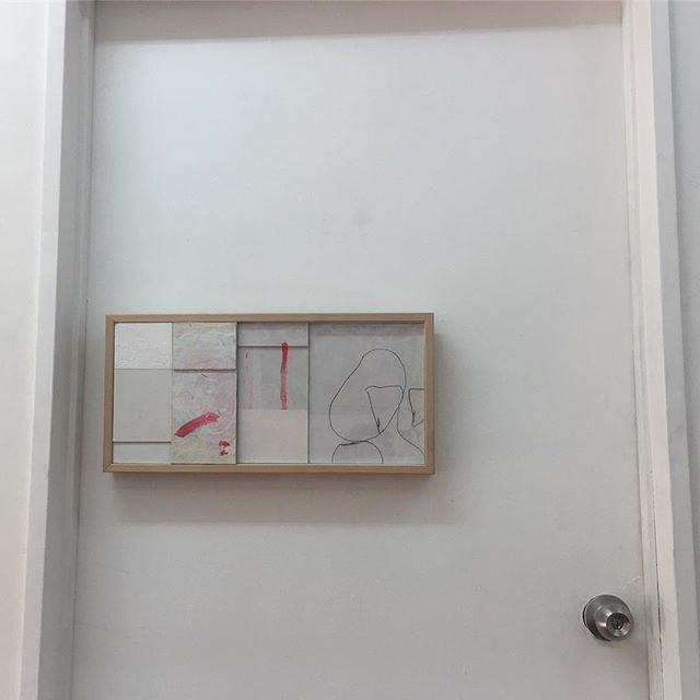 Relief and untitled drawing (2019) by Shiraz Sadikeen. We're open 11-2 today tomorrow and Friday 📶🚪