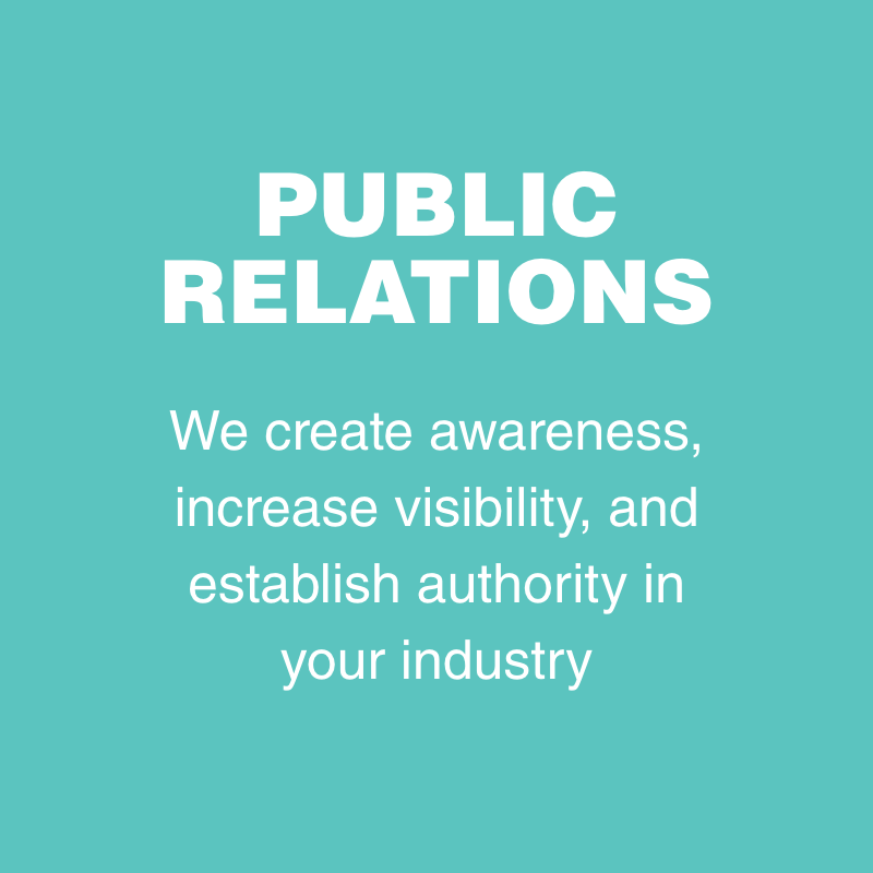 LEARN MORE ABOUT OUR PUBLIC RELATIONS