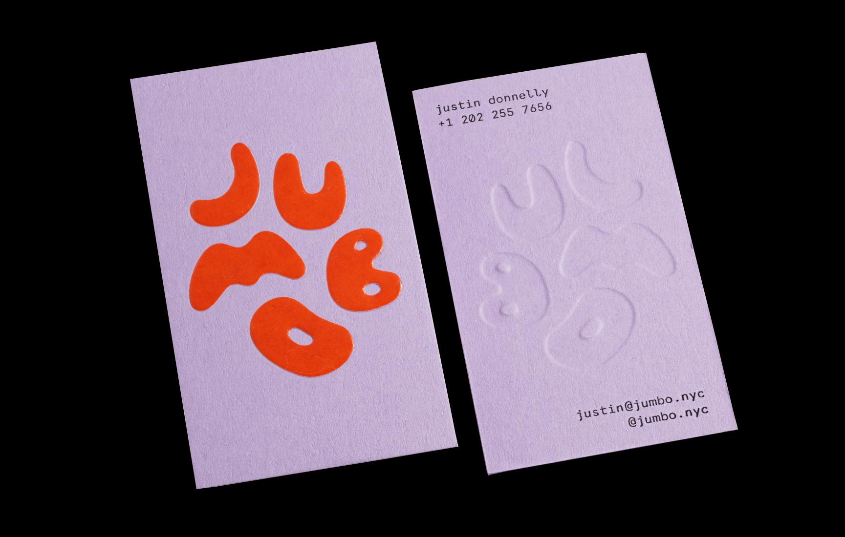 Jumbo Logo & Business Cards    Verena Michelitsch
