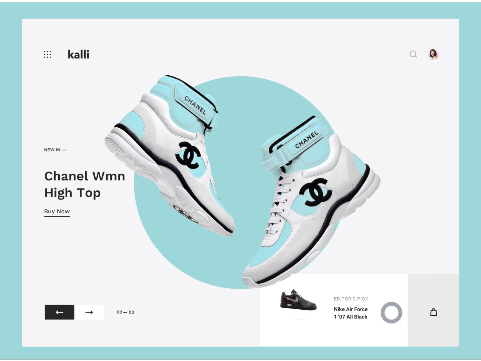 Kalli UI Kit   by   Anton Tkachev   for   UI8