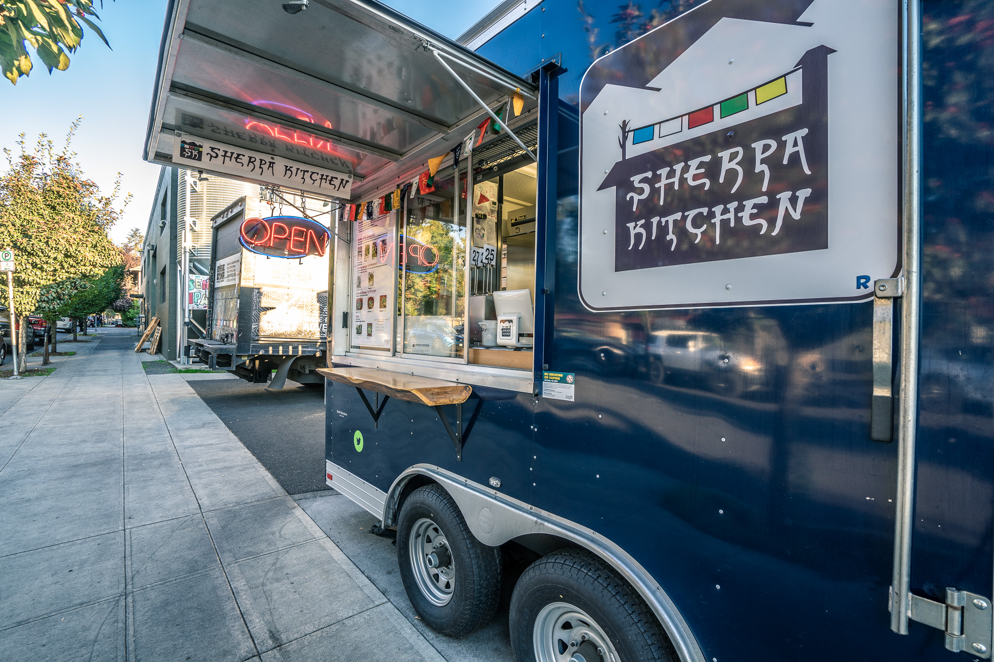 Himalayan Food Truck at Base Camp Brewing in Portland, Oregon