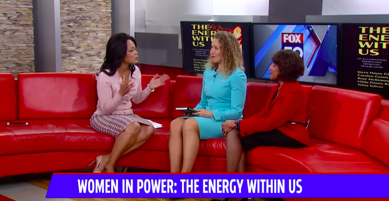 Joyce Hayes Giles, one of the five authors of  The Energy Within Us  and publisher Elizabeth Ann Atkins sat down with FOX59 to discuss trailblazing women during the book's release at the 42nd Annual American Association of Blacks in Energy in Indianapolis, IN, on May 1, 2019.    Click here to watch the discussion.