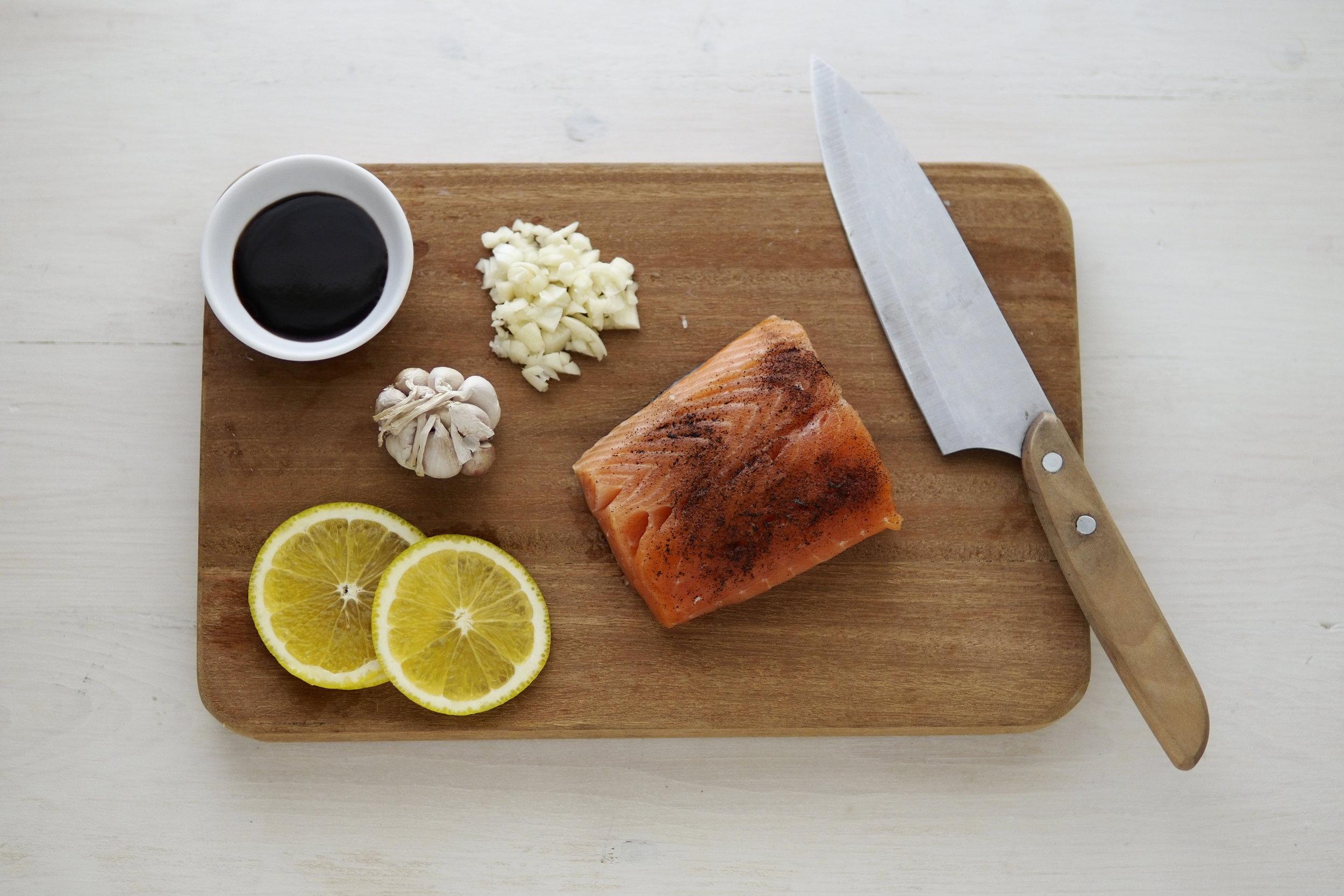 Andrea's Lemon Salmon -
