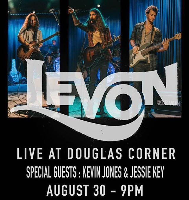 Don't miss you chance to see a special time of music with Levon tomorrow night! We have a couple great openers lined up, can't wait to see y'all there! . . @douglascornercafe @kevinjonesmusic @jessiekeymusic