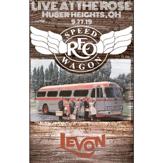 Pack your bags! We're rockin the @rosemusiccenter again with @reospeedwagonofficial this Friday night!! #reospeedwagon #ohio #huberheights #bandsofinstagram #localmusicians