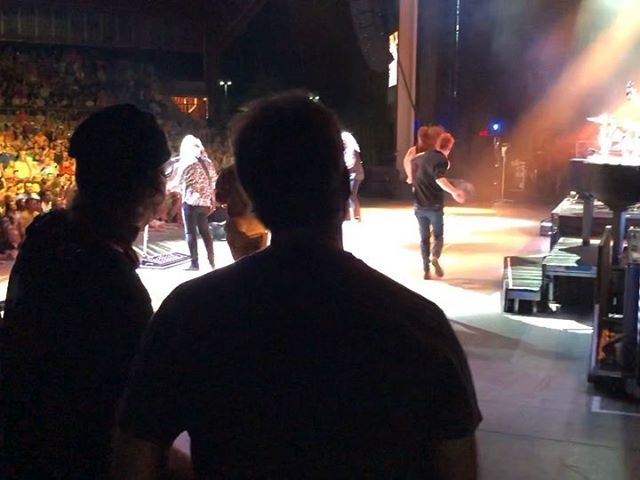 WHAT AN AMAZING NIGHT! Thank you @rosemusiccenter for having us back, Thank you to everyone who came out and filling the place with energy and good vibes, And thank you to @reospeedwagonofficial for letting us open your show once again!! -and letting us join you on stage for your closing song 🎶 . . . #supportband #openingact #americanamusic #bandsofinstagram #supportnewmusic #livegig
