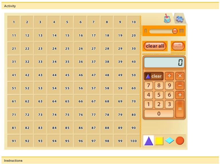 Free Practice Resource: NCTM- Learning about Number Relationships - Click on the image to open a free practice resource and lesson plan from NCTM where students explore the relationships between numbers using a virtual calculator tool.