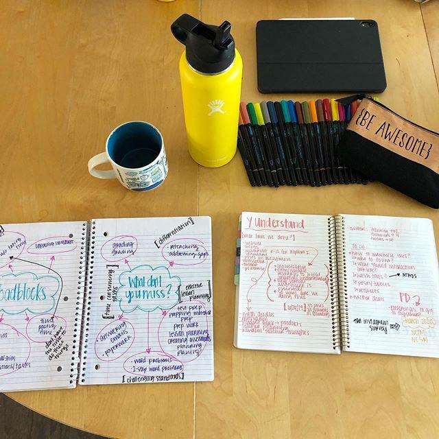 our brains hurt 🧠 ☕️ 📚🧮 #teachersofinstagram #math #mathteachers #mathchat #edchat #education #teachersfollowteachers #cantstopwontstop #brainstorm #coffee #yunderstandmath