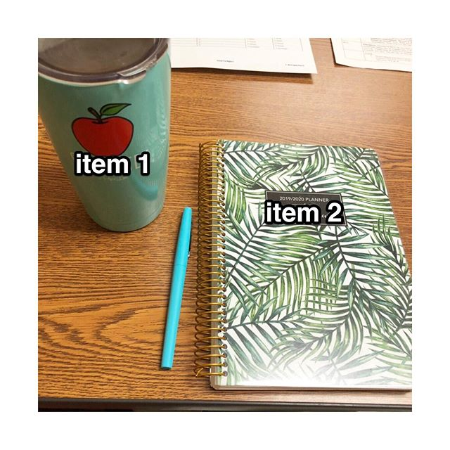 Item 1 keeps us motivated & item 2 keeps us accountable ☕️💪🏼👩🏻‍🏫 You'll rarely find either of us without both of these in hand! #iteachmath #iteachtoo #math #mathteachers #mathteachersofinstagram #teachersofig #teachersfollowingteachers #coffee #caffeine #teachertired #flairpens