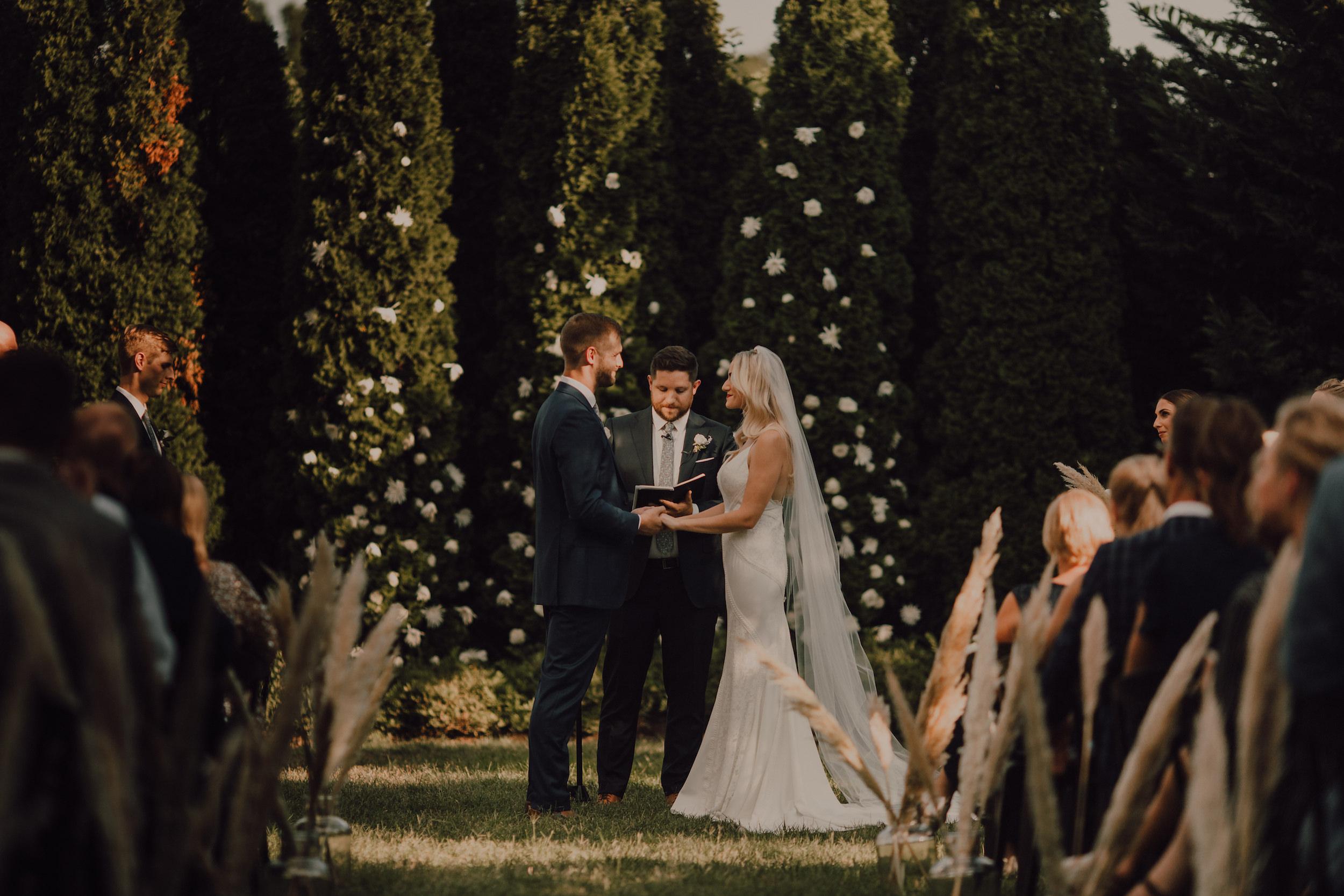 A Garden Wedding -
