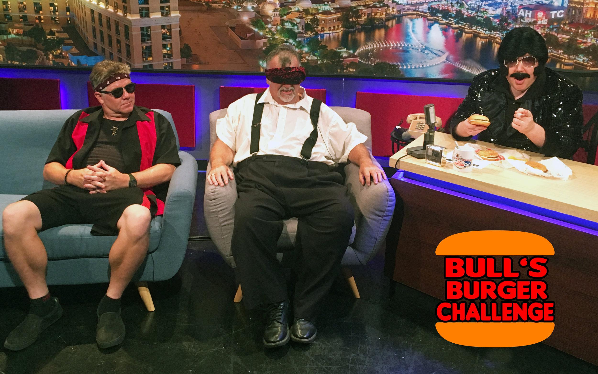 Bull's Burger Challenge