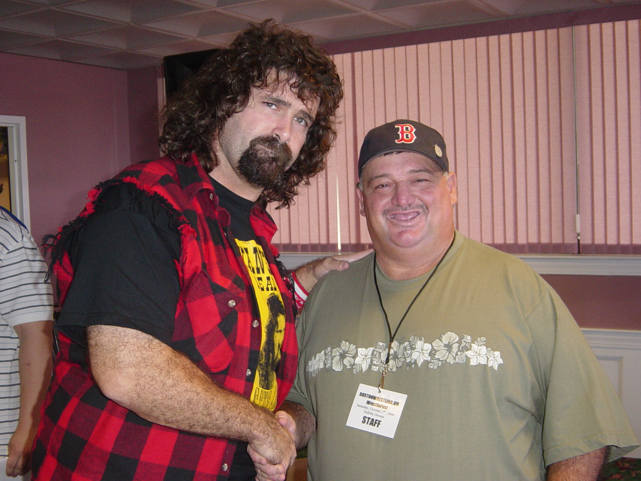Bull and WWE Legend Mick Foley
