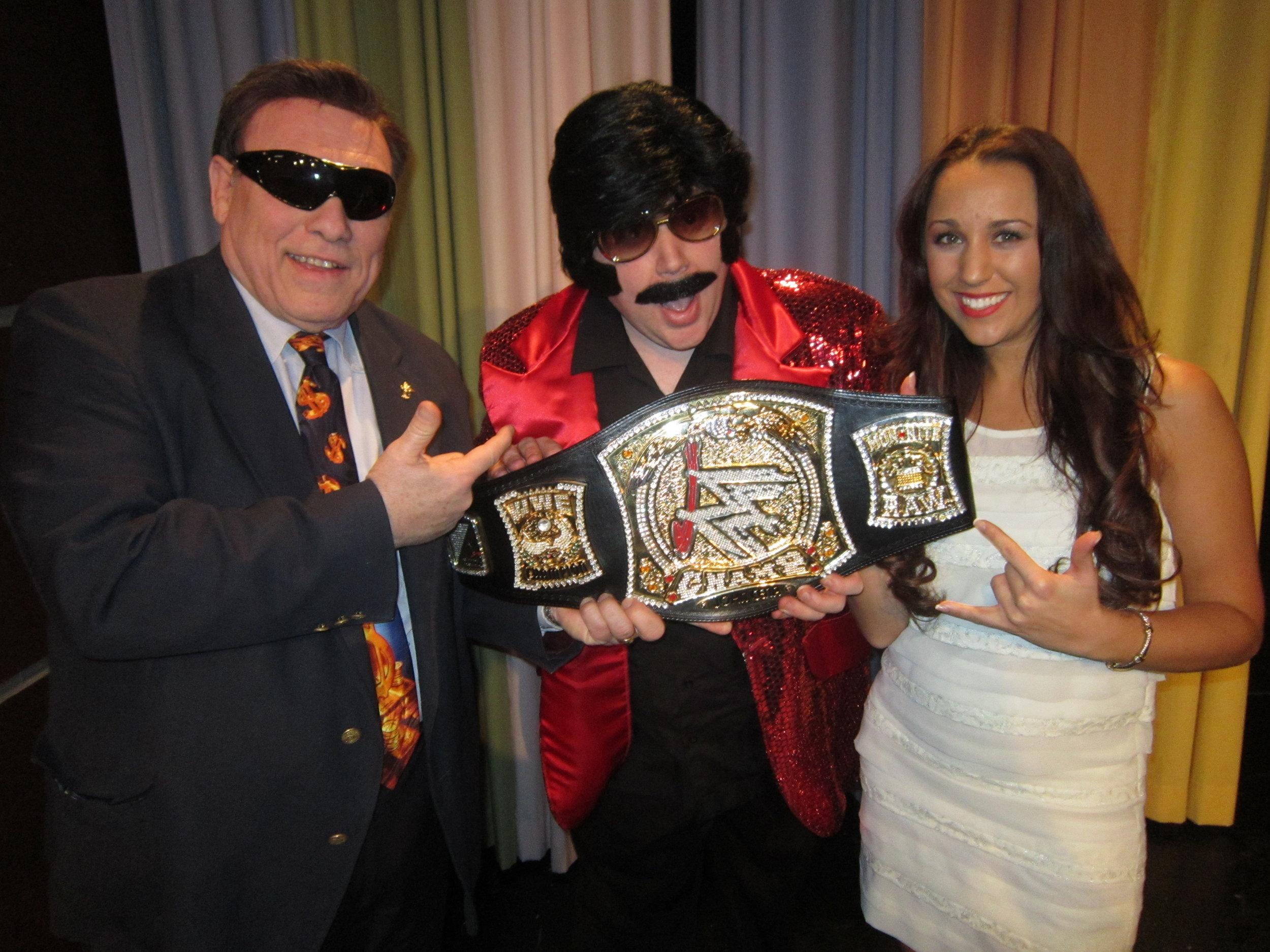 John Cena Sr., TC and Sabrina