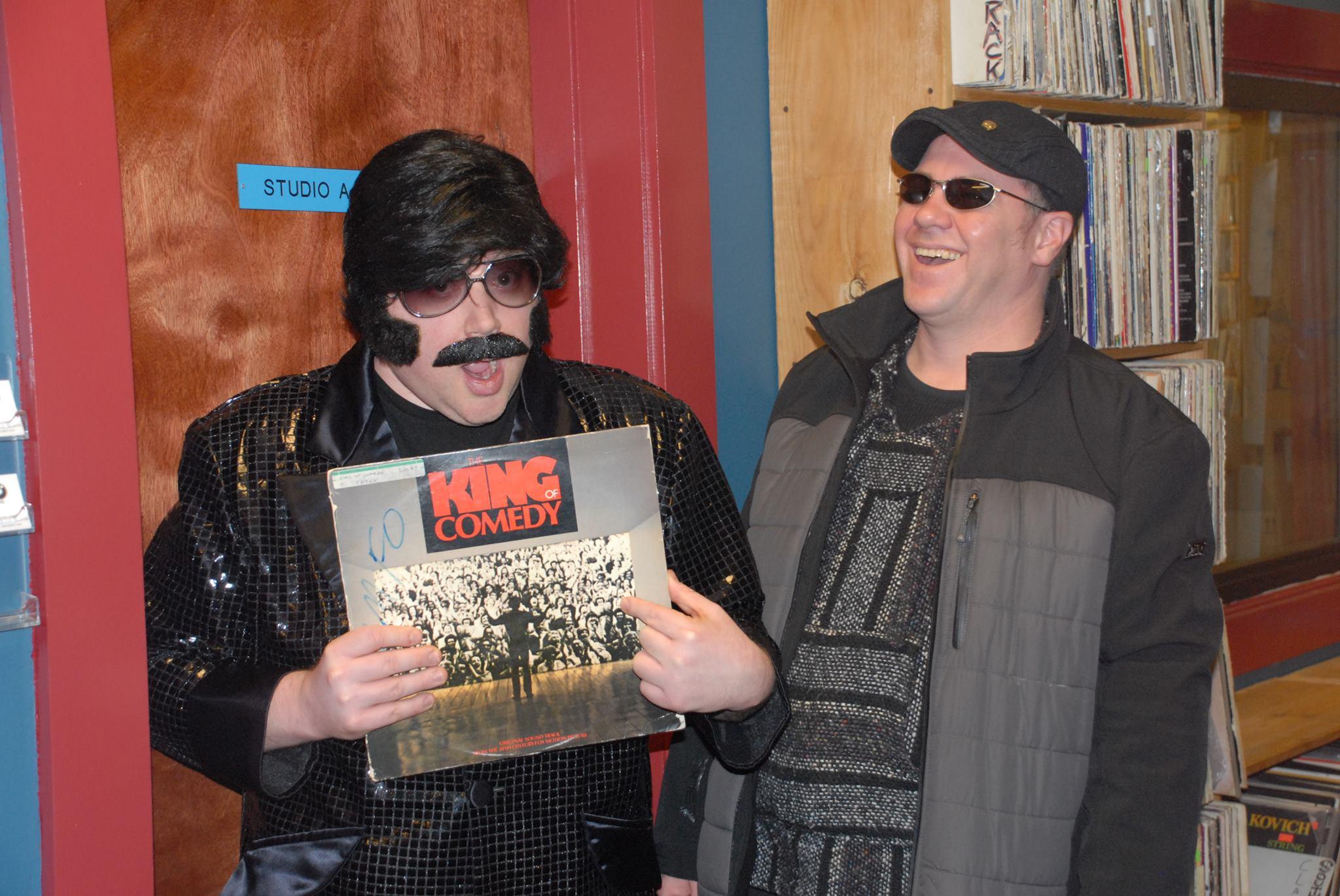 With South Boston Jeff at Tufts University Radio
