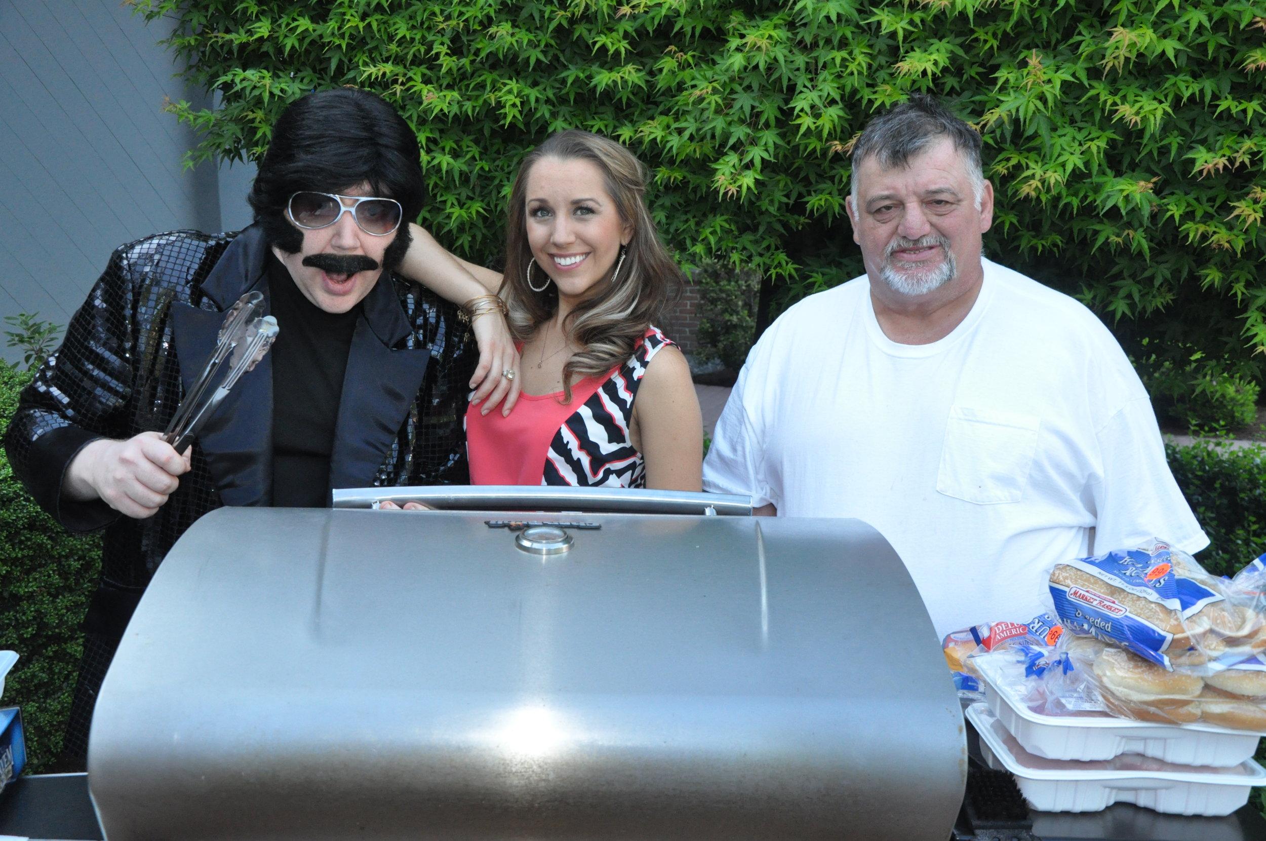 BBQ with Sabrina & Bull