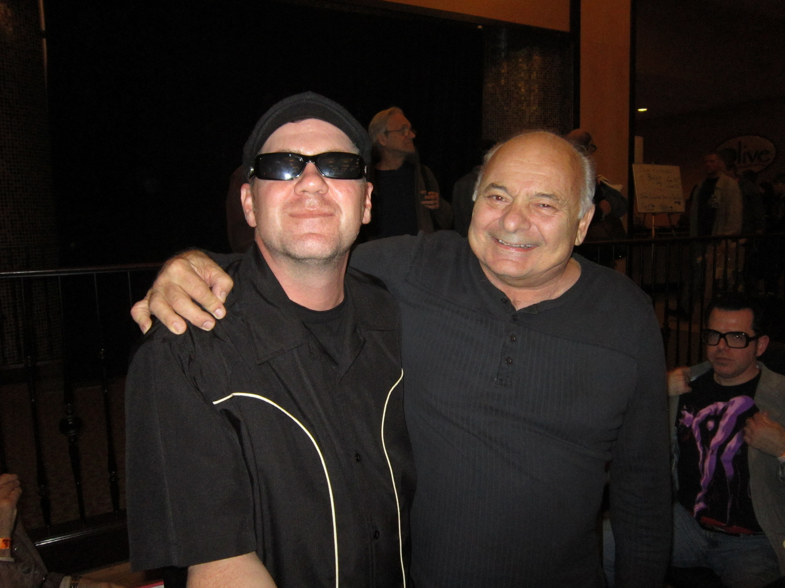South Boston Jeff with Burt Young from Rocky