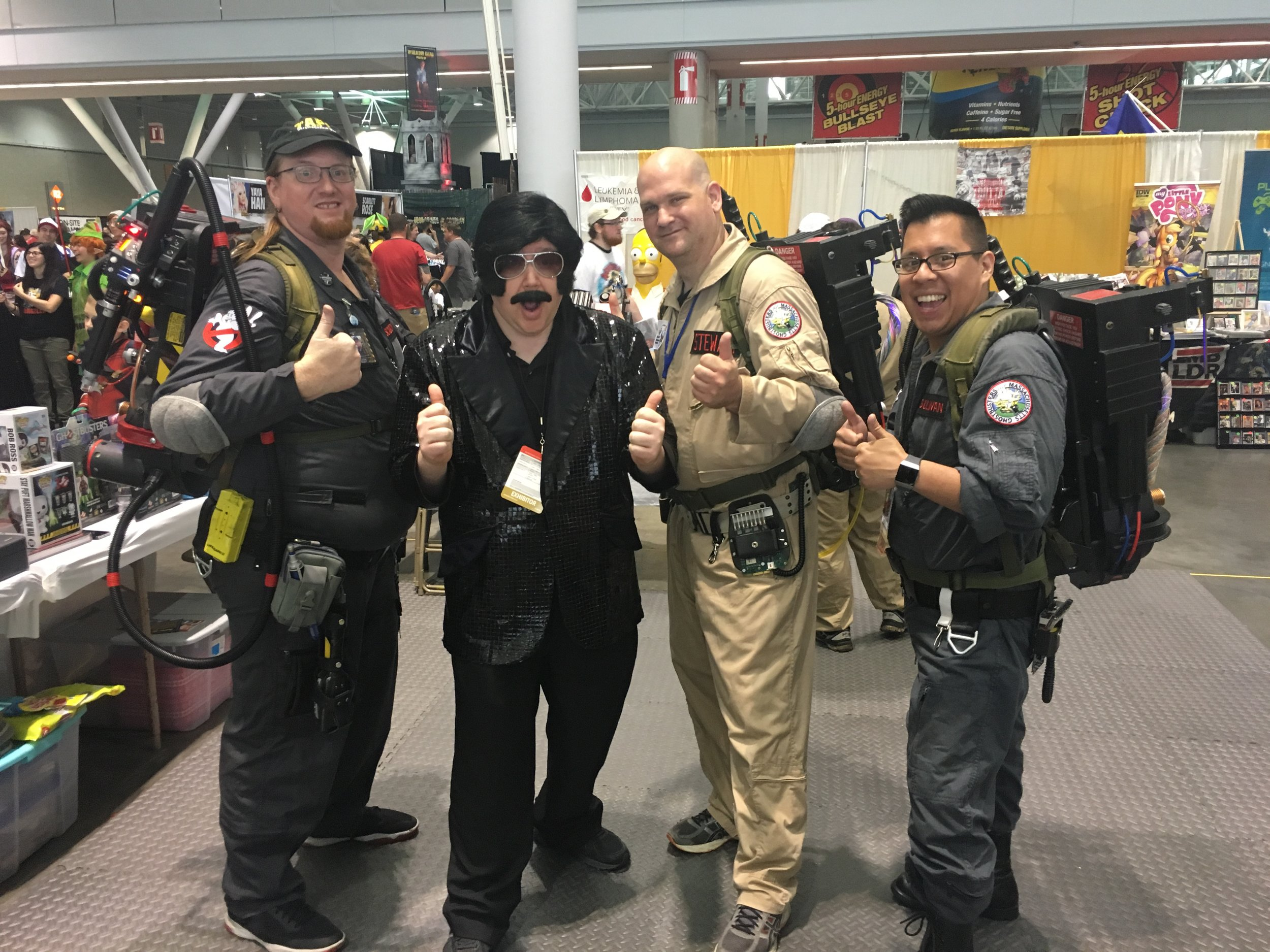 New England Ghostbusters