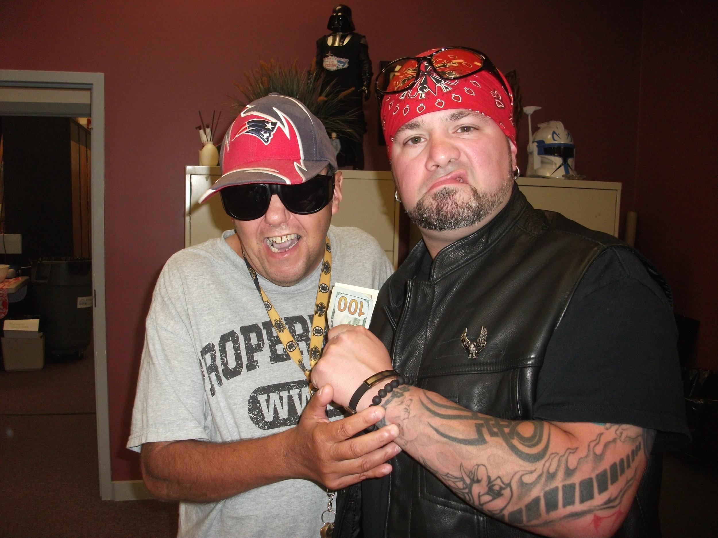 Vinnie CaPelli with Reno