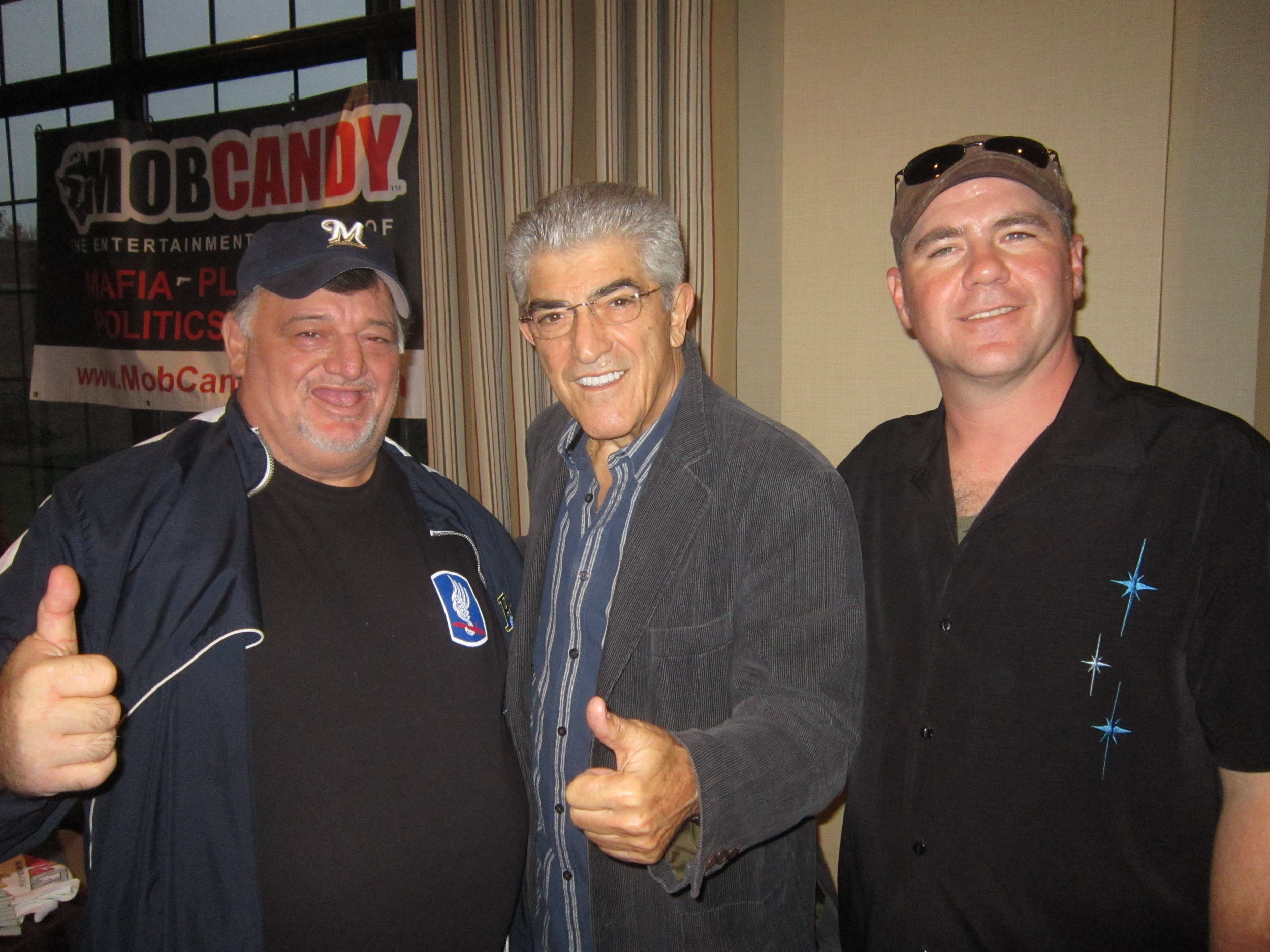 Bull and SBJ with Frank Vincent