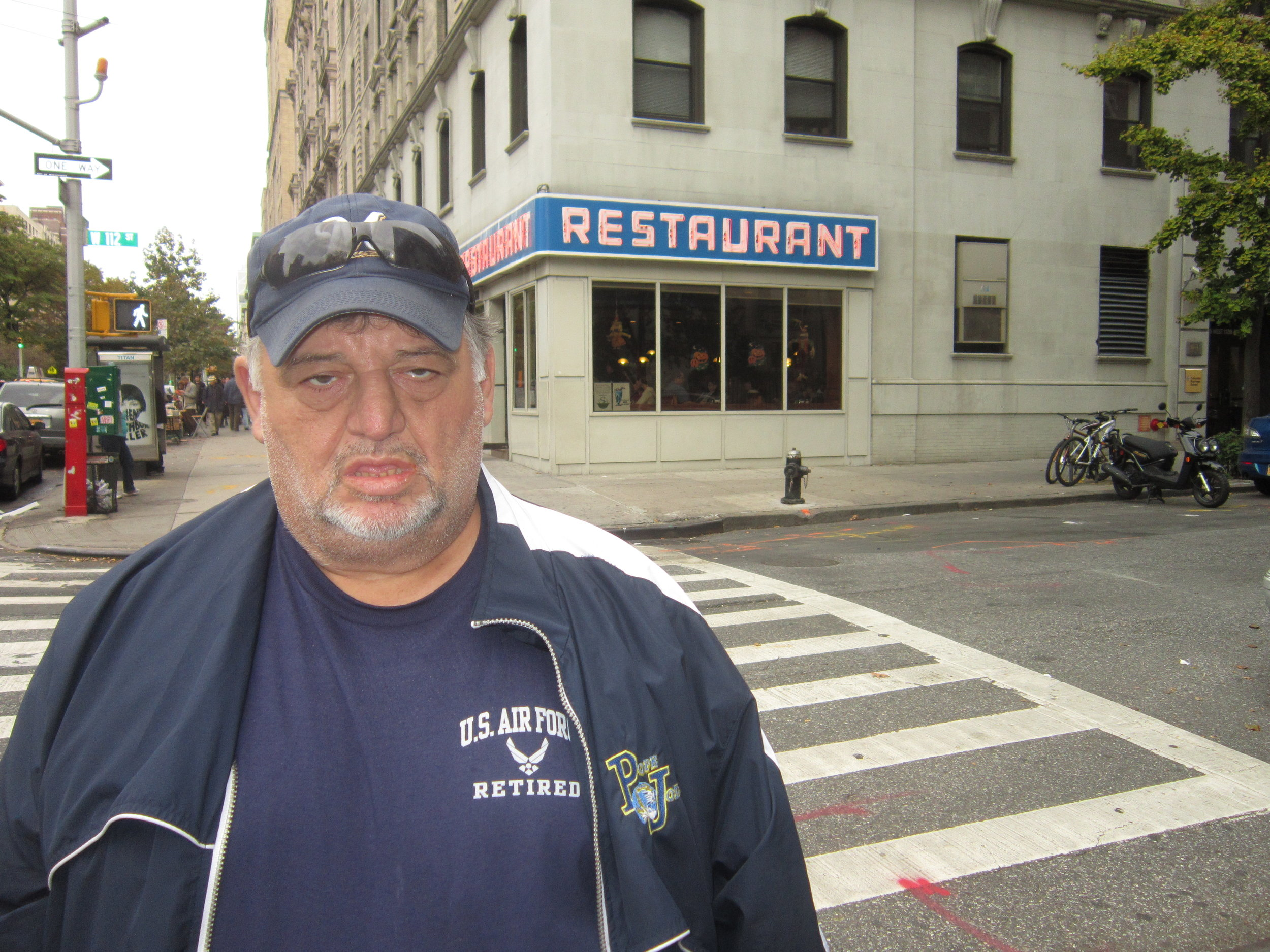 Bull at the Seinfeld Diner