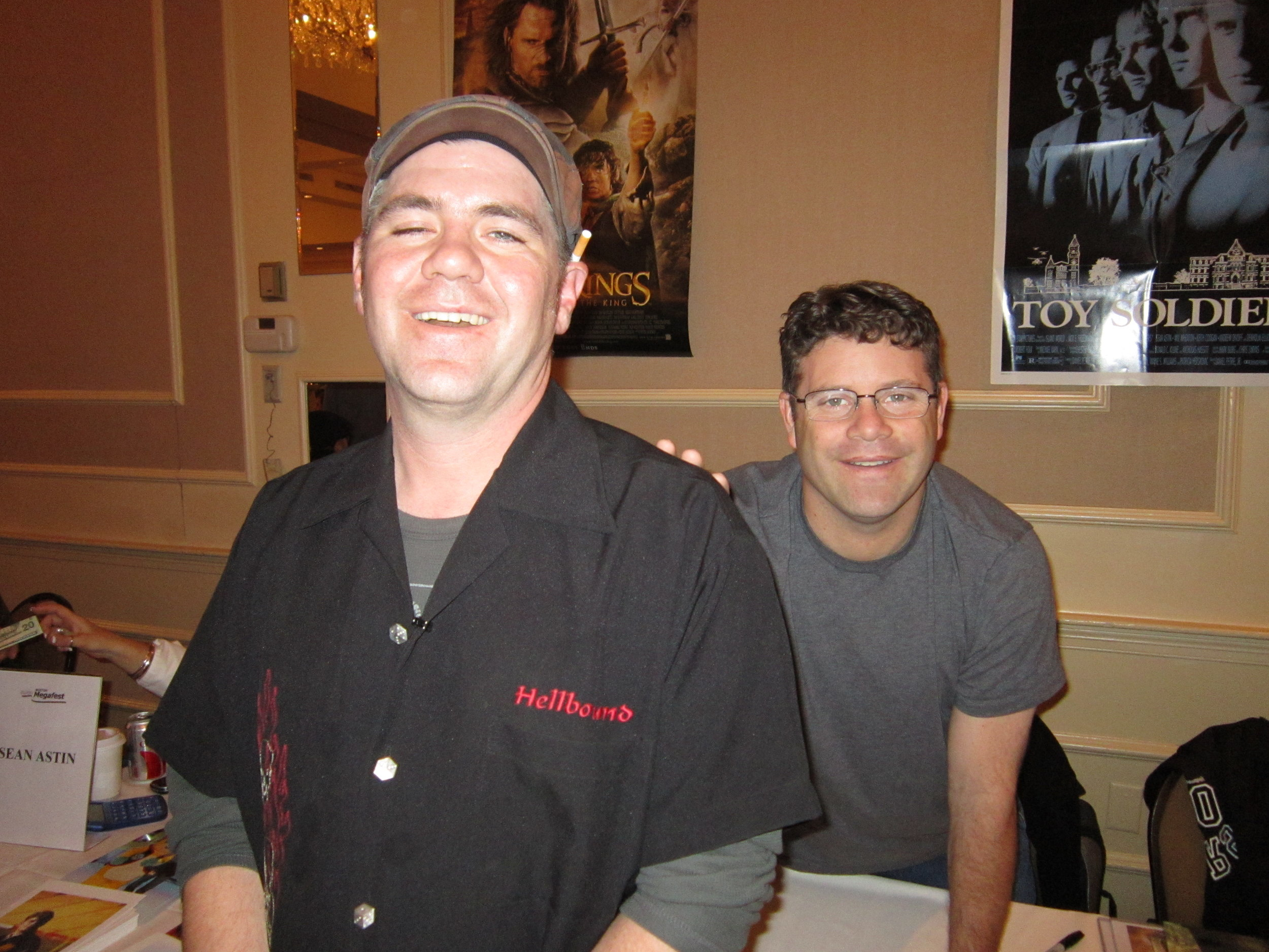 SBJ with Sean Astin from The Goonies