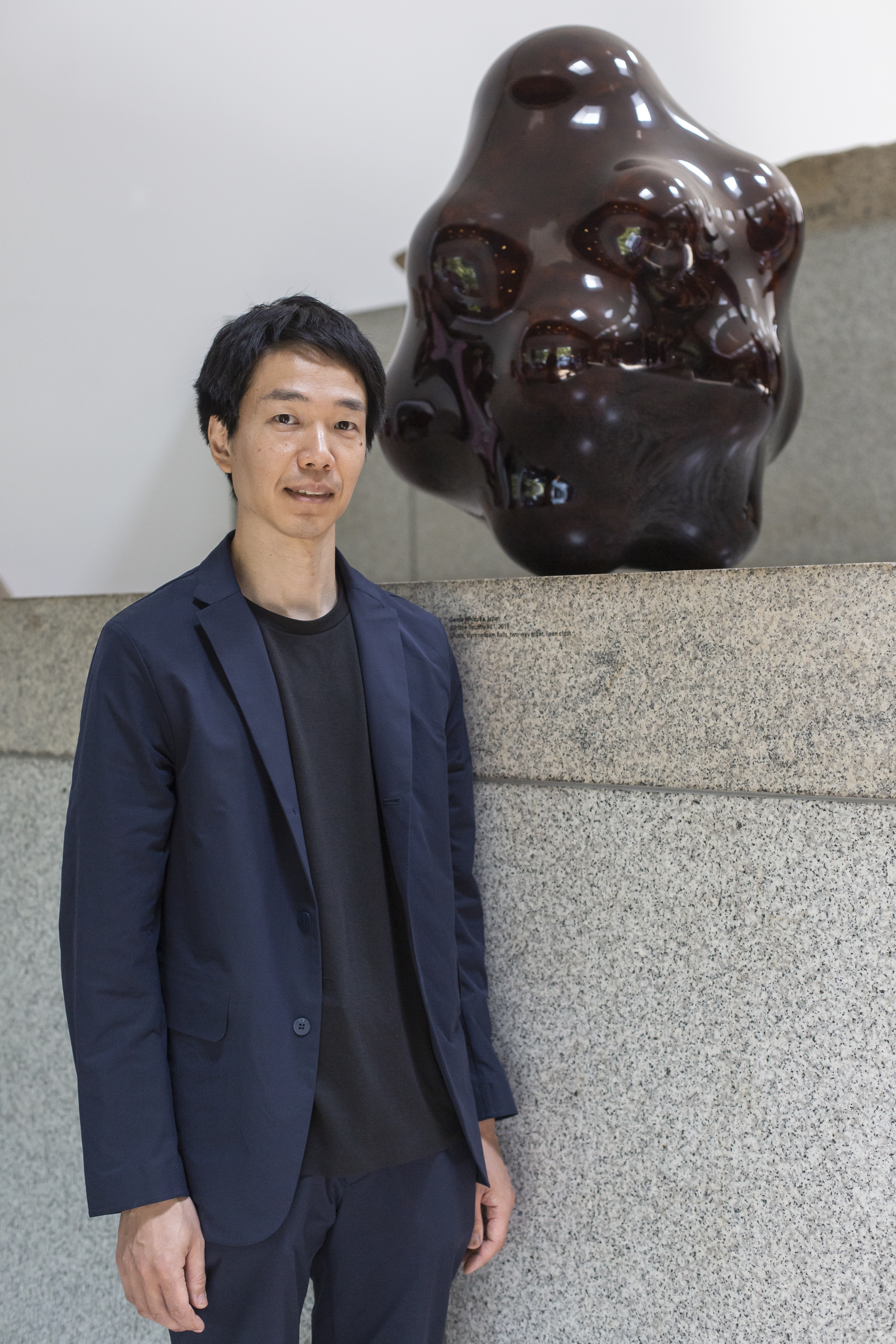 Genta Ishizuka, winner of the LOEWE FOUNDATION Craft Prize 2019