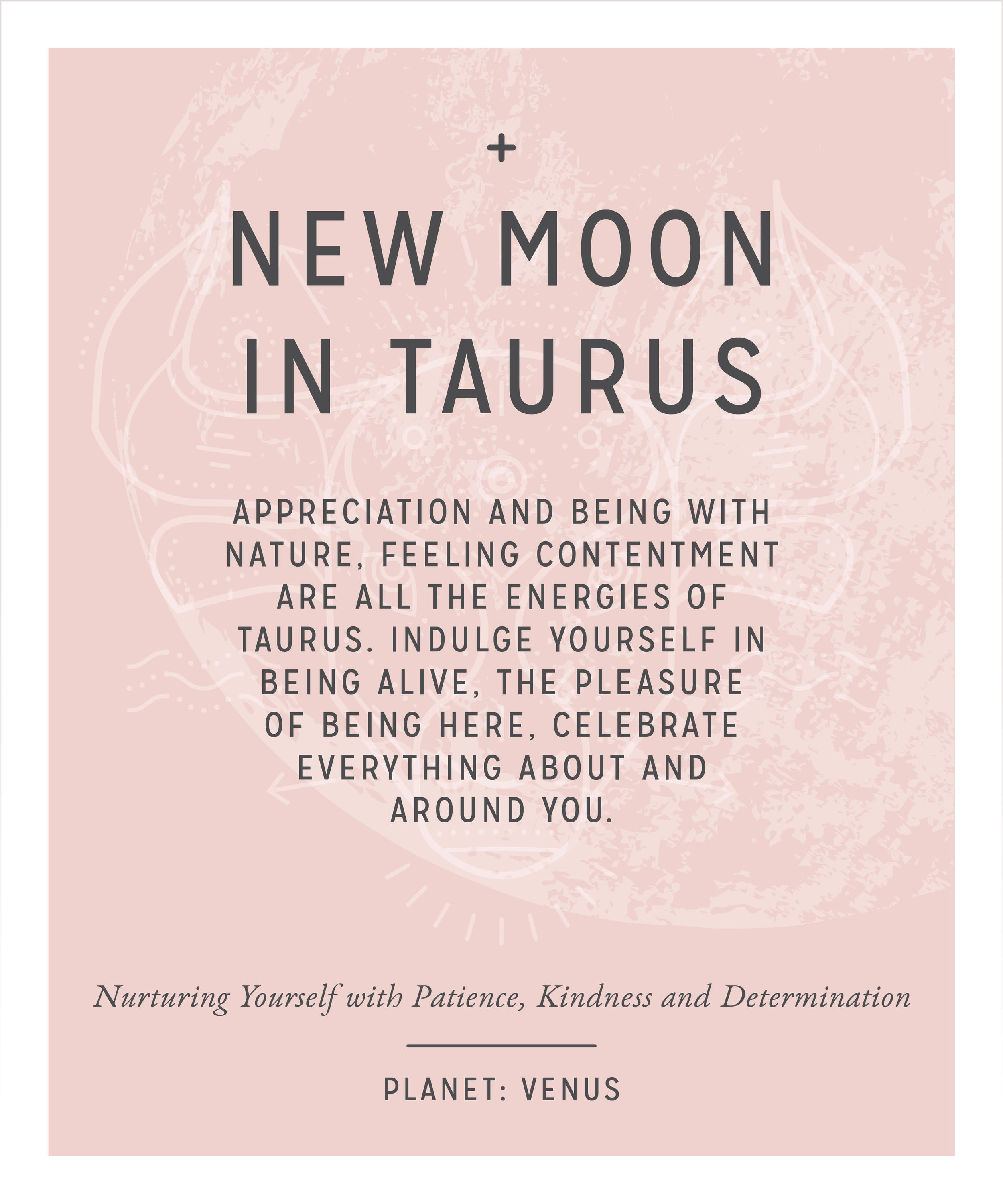 New Moon in Taurus on 4th May 2019 — The Moon In You