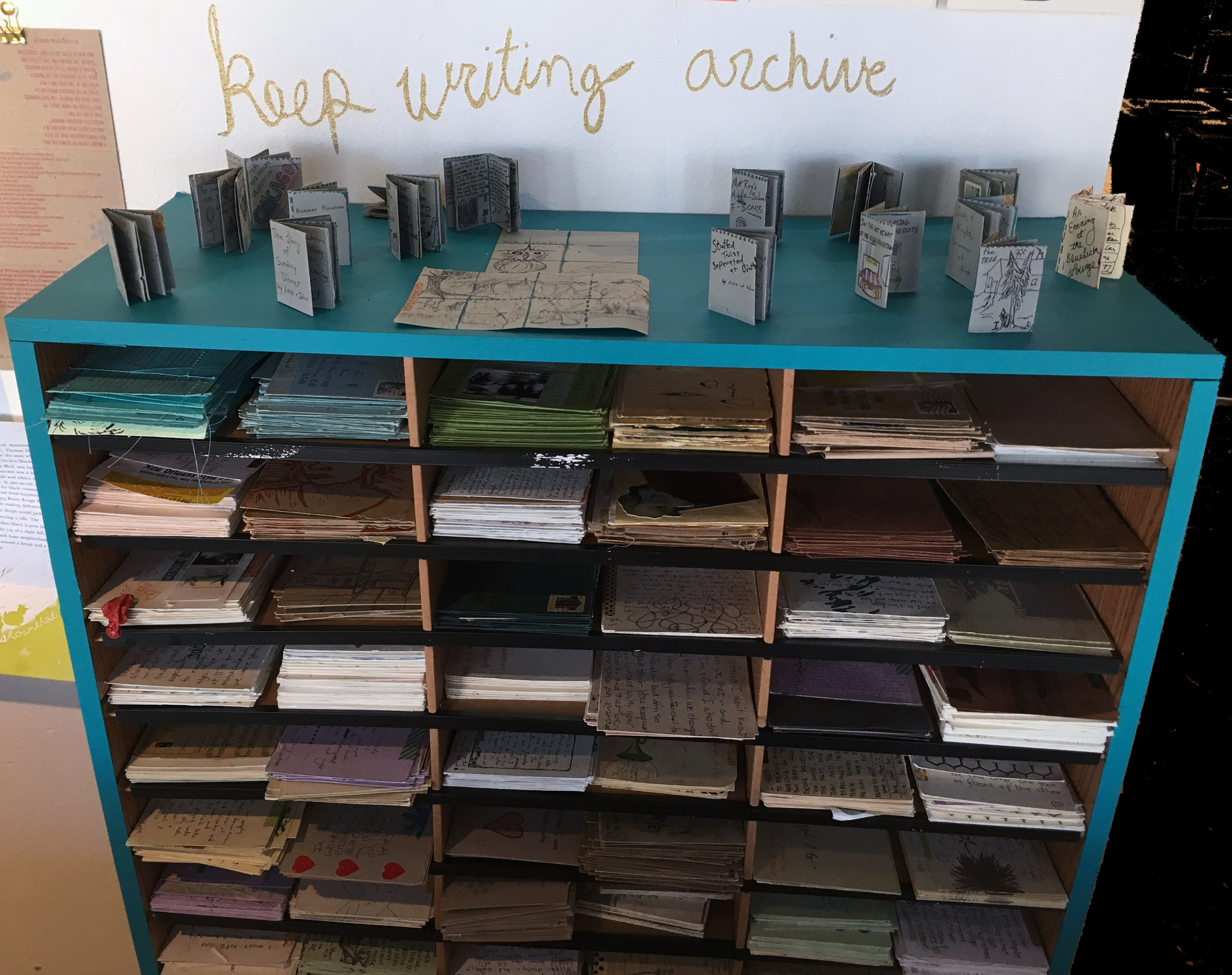 keep writing archive