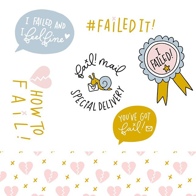 What was so insanely amazing about @howtofailpodcast was how specific their brand vision was, yet they've proven that a clear brand vision does not then mean you're confined into a small box. ⠀⠀⠀⠀⠀⠀⠀⠀⠀ ⠀⠀⠀⠀⠀⠀⠀⠀⠀ In fact, the design grew with the brand as it expanded into merchandise and even a Happy Mail subscription service—but because the brand vision was strong, they never lost sight of how it would remain on-brand. They knew the story, and they intended to tell that brand story no matter the platform. And we've got fun illustrations to prove it.⠀⠀⠀⠀⠀⠀⠀⠀⠀ .⠀⠀⠀⠀⠀⠀⠀⠀⠀ .⠀⠀⠀⠀⠀⠀⠀⠀⠀ . ⠀⠀⠀⠀⠀⠀⠀⠀⠀ #thedulcetlife #openmyworld #livefullyalive #creativeprocess #inspireothers #goaldigger #tnchustler #huntgram #entrepreneurlifestyle #thehappynow #flashesofdelight #prettylittlething #foundforaged #petitejoys #makeyousmilestyle #creativelifehappylife #creativebusiness #creativebiz #creativeminds #livethelittlethings #bosslady #howyouglow #finditliveit #gottastayfocused #creativeprocess #podcast #beingboss #personalbranding #brandstylist #brandingdesign