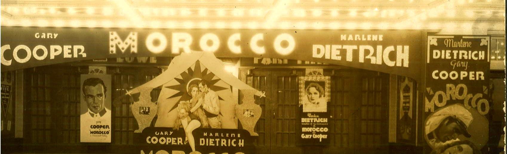 Paramount Theatre Exterior, 1930