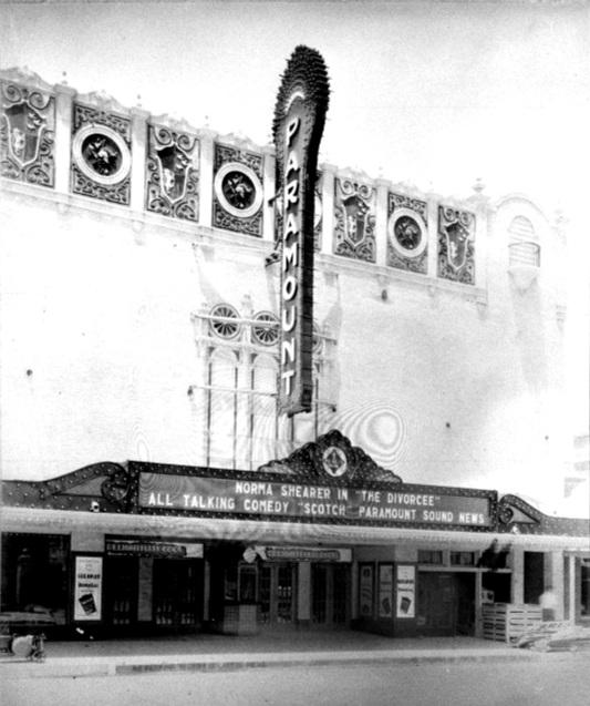 Original exterior marquee (1930)