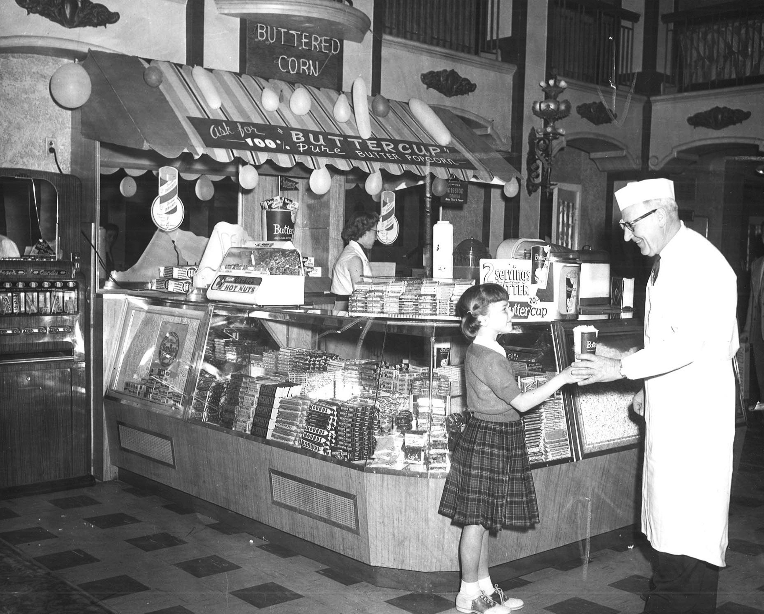Lobby Concessions Stand (1954)