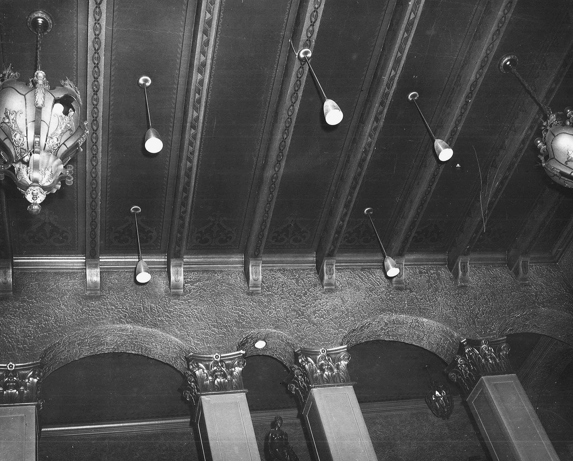 Lobby Ceiling, 1956