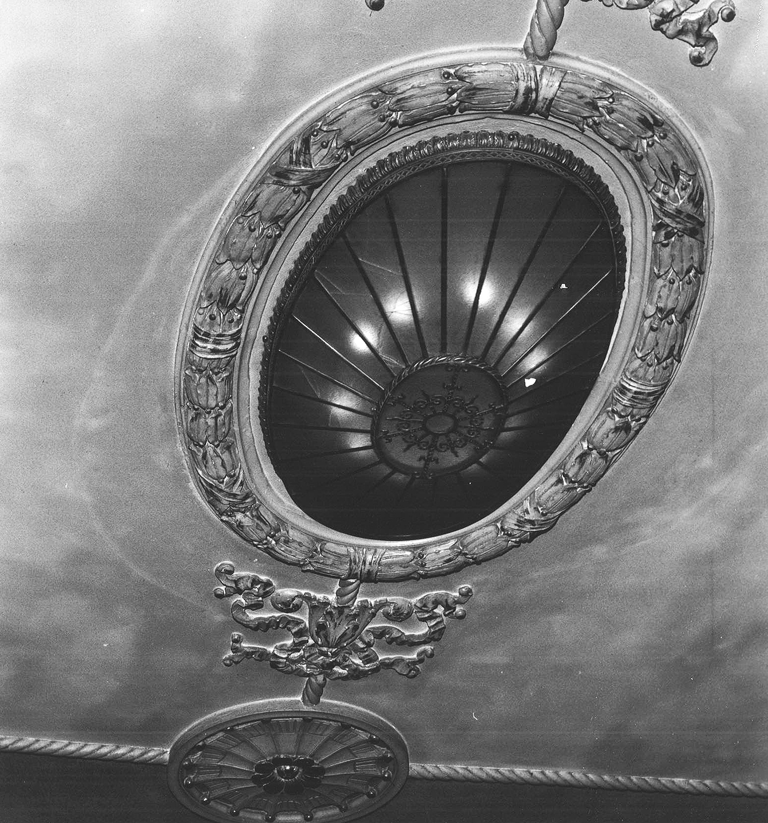 UNDER BALCONY CEILING DETAIL (Date Unknown)