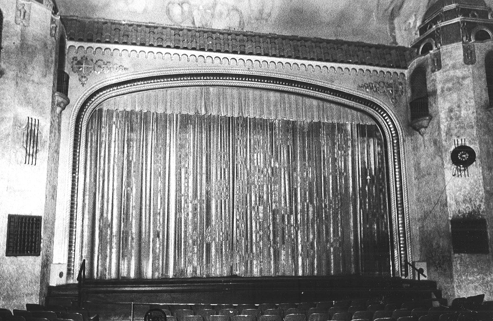 PROSCENIUM AND CURTAIN (Date Unknown)