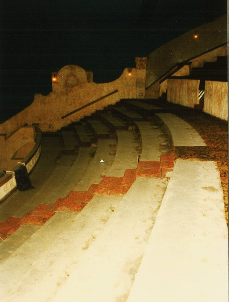 BALCONY DURING RESTORATION (1987)
