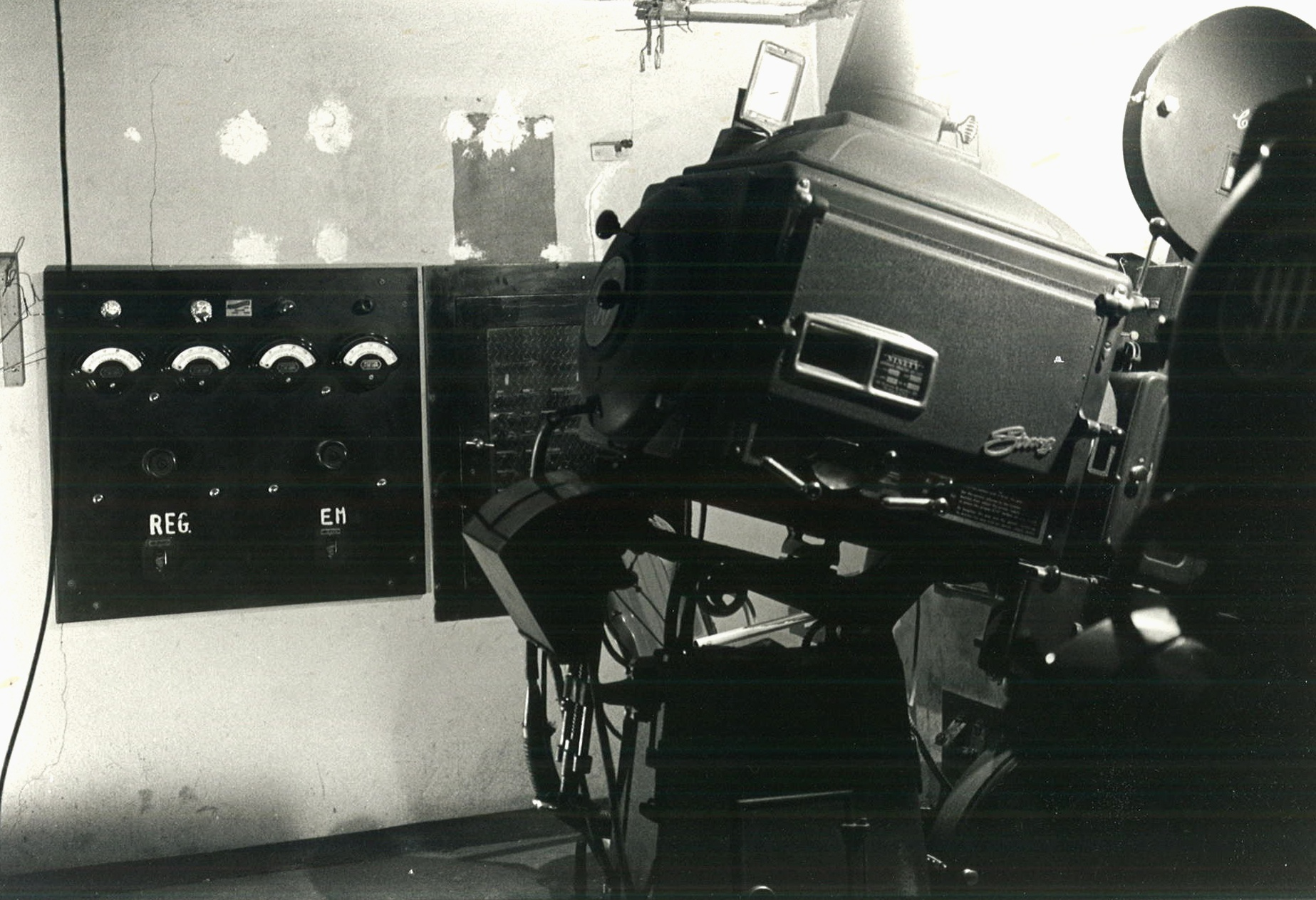 PROJECTION BOOTH (Date Unknown)