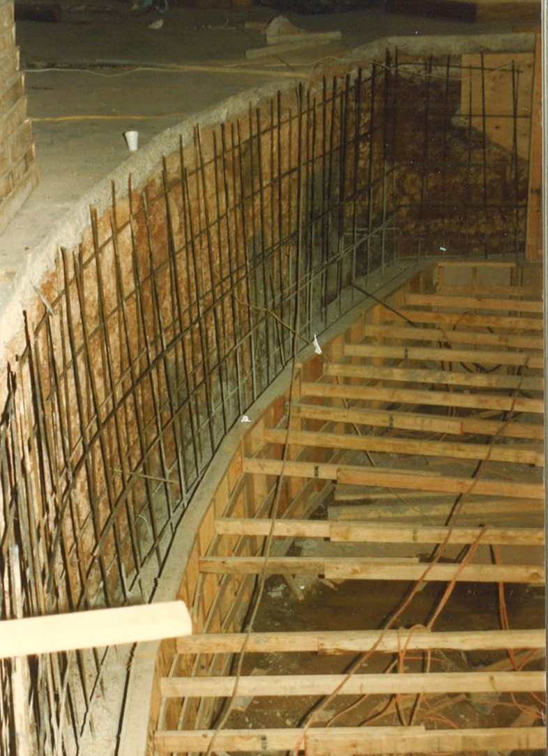 EXCAVATION OF ORCHESTRA PIT (1987)