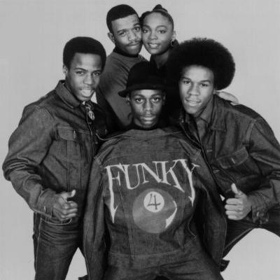 Funky Four Plus One